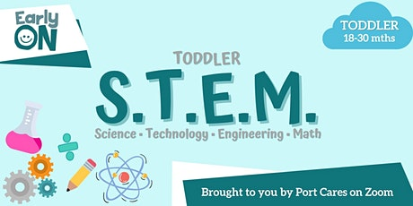 Toddler S.T.E.M - Building & Stacking tickets