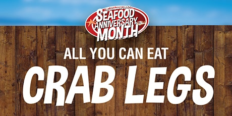 ALL YOU CAN EAT CRAB LEGS  AT TWO FISH!! tickets