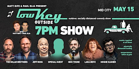 Lowkey Outside with Jeff Ross, Moshe Kasher, Nick Thune, and more! tickets
