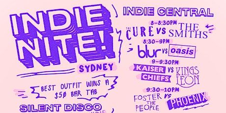 INDIE NITE SYDNEY - REGISTER TO BE NOTIFIED WHEN TICKETS GO ON SALE tickets