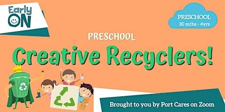 Preschool Creative Recyclers: Water Bottle Fish tickets