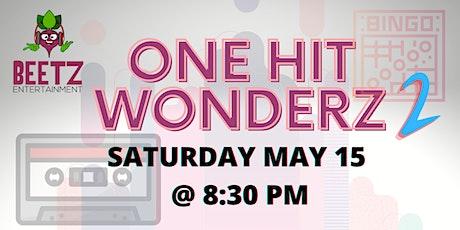 Beetz Bingo Toonz: One Hit Wonderz 2.  The Return tickets