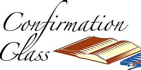 Confirmation Preparation lessons - Saturdays 3:30pm - Mr Villarica -Church tickets