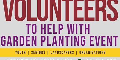 MLK Community Garden Planting Event tickets