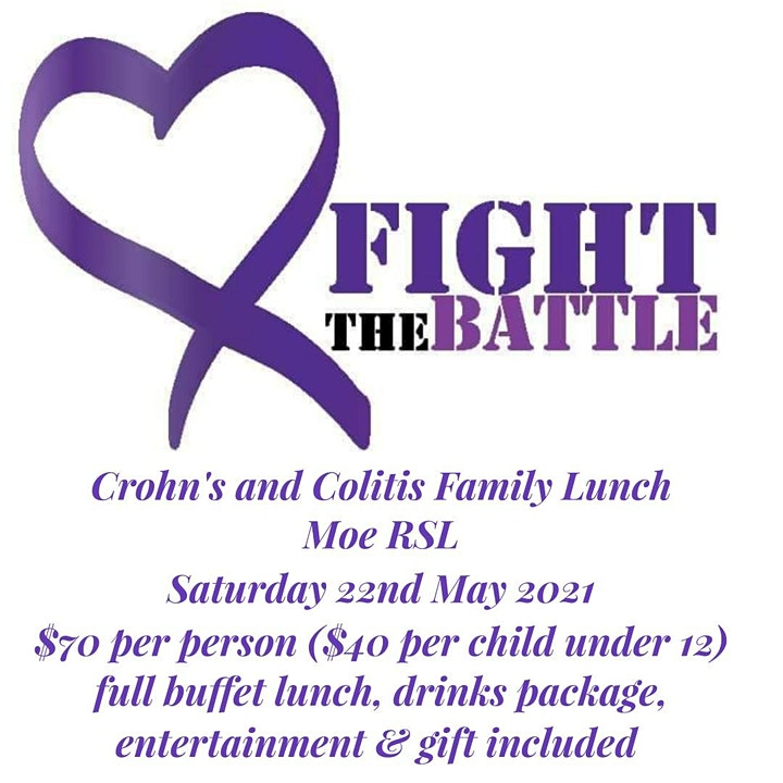 Crohn's and Colitis awareness Family Lunch image