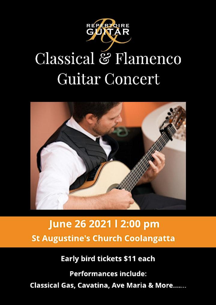 Classical & Flamenco Guitar Concert image