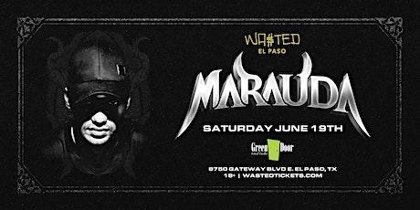 El Paso: Marauda  @ Green Door [18 & Over] tickets