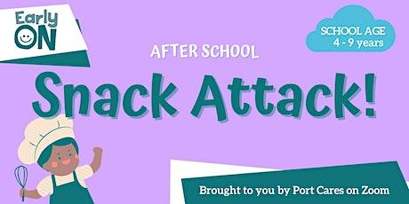 After School Snack Attack - Unicorn Bark tickets
