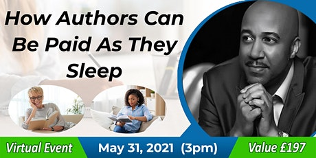 How Authors and Publishers Can Be Paid As They Sleep tickets
