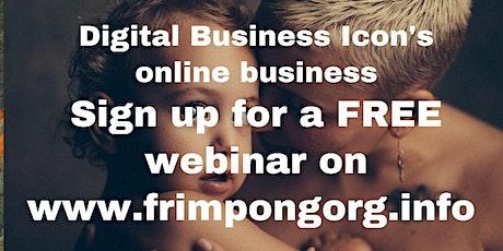 ONLINE EVENT: Digital Business tickets