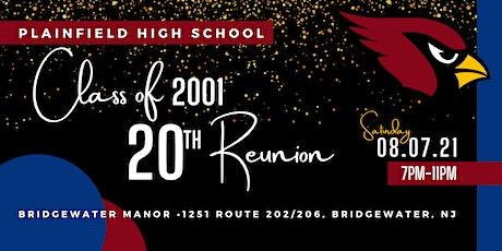 Plainfield High School Class of 2001 20th Reunion (update) tickets