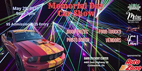 Memorial Day Car Show tickets