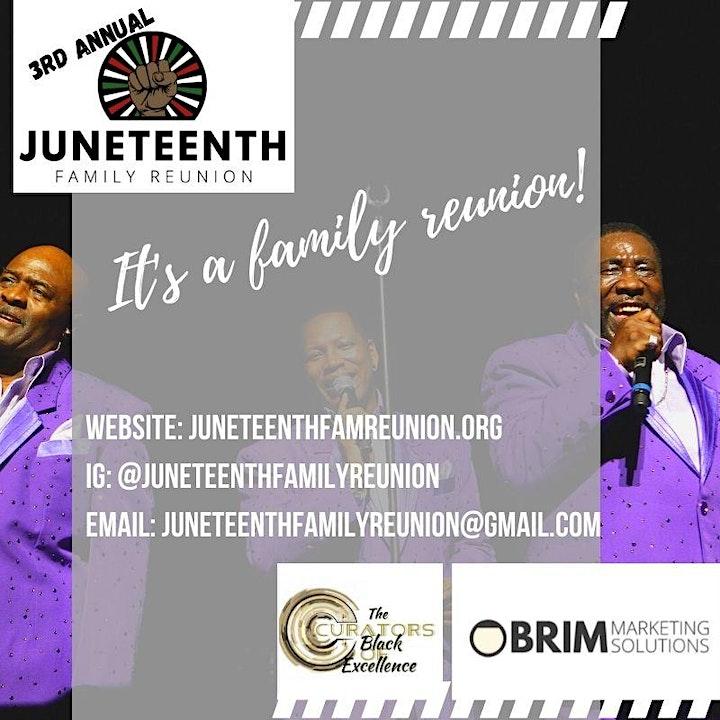 Juneteenth Family Reunion image