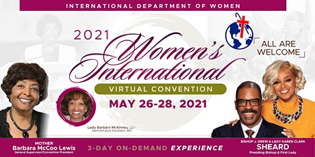 Women's International Virtual Convention COGIC Tickets