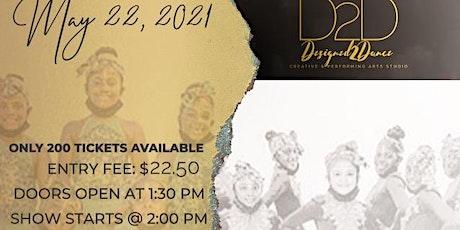 Designed 2 Dance (Undergraduate Recital) tickets
