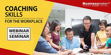 Live Webinar: Coaching Skills for the Workplace tickets