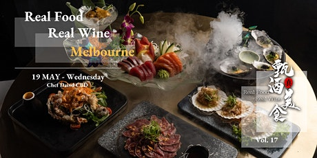 Real Food Real Wine Vol. 17 Melbourne - Barossa & McLaren @Chef David tickets
