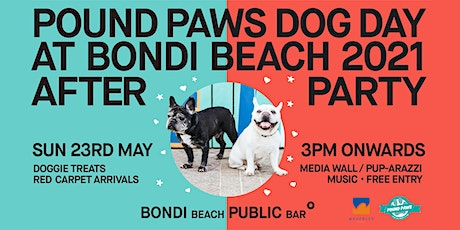 Official After Paw-ty for Pound Paws Dog Day at Bondi Beach 2021 tickets
