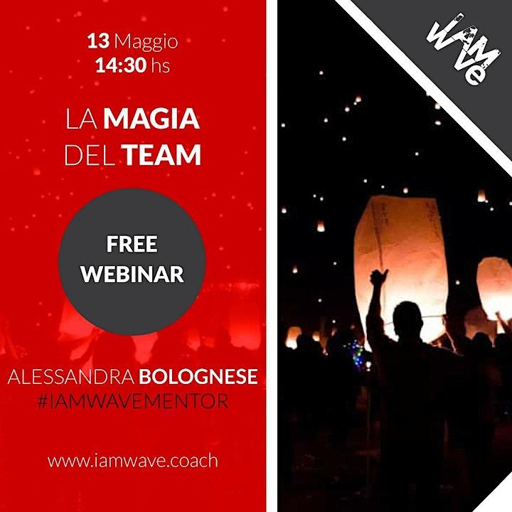 Immagine La magia del team - WEBINAR GRATUITO