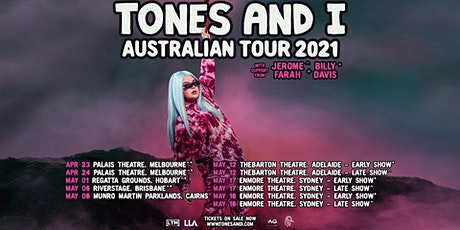 Tones And I - Thebarton Theatre Early Show, Adelaide. SA tickets
