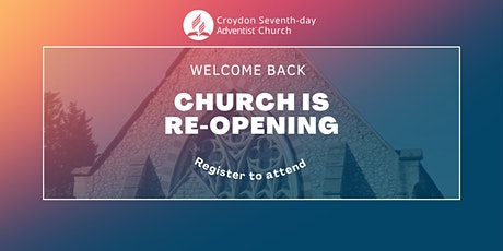 Croydon SDA Church Worship Service Admission tickets