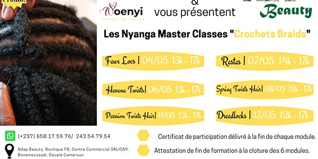 "Les Nyanga Master classes ""Crochets Braids"" tickets"