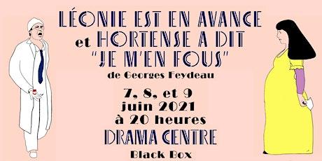 Soirée Feydeau : les 7,8 et 9 juin 2021 de 20h à 22h tickets