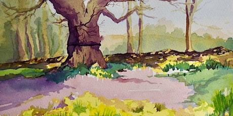 Watercolour workshop, intermediate – Spring theme with Frances Douglas tickets