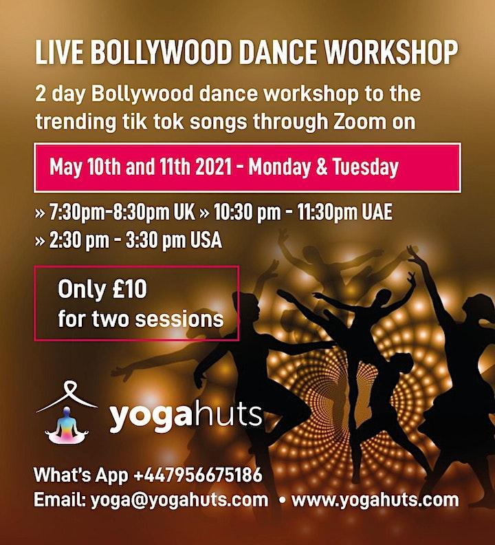 Live Bollywood Dance Workshop image