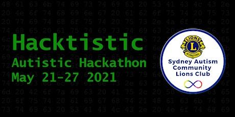 Hacktistic Hackathon tickets