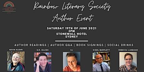 Rainbow Literary Society Author Event tickets