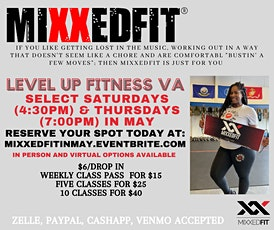 The Weekend Werkout: May Mixxedfit Edition tickets