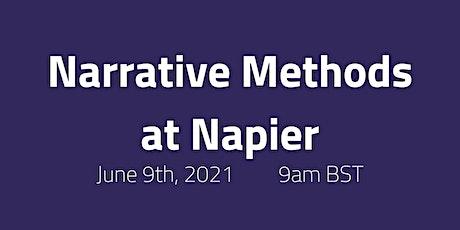 Narrative Methods at Napier ingressos