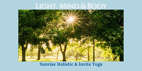 Light, Mind and Body - May 15 tickets