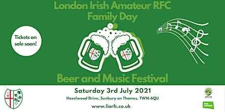 London Irish Beer Music & Family Day 2021 tickets