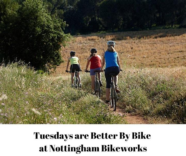 Nottingham Bikeworks Community Bike Ride image