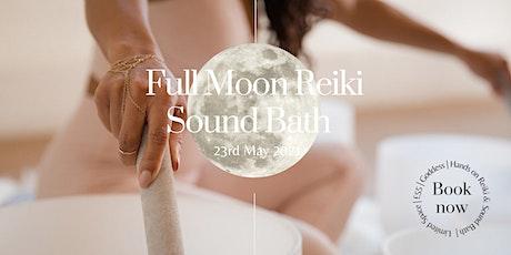 Full Moon Sound Bath & Reiki Healing tickets