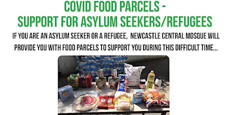 Covid-19 Food Parcels for Refugees/Asylum Seekers - Monday 10th May 2021 tickets