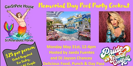 Memorial Day Pool Party & Cookout tickets