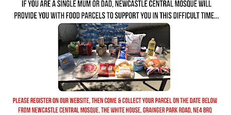 Covid-19 Food Parcel - Single Parents - Monday 10th May 2021 tickets