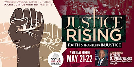 Justice Rising: Faith Dismantling Injustice tickets