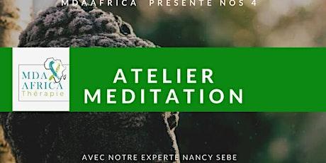4 Ateliers Meditation billets