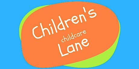Children's Lane Childcare  Open Evening tickets