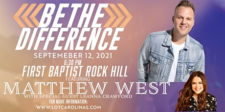Be The Difference featuring Matthew West & Leanna Crawford tickets