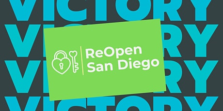 ReOpen San Diego Victory Party at the County Board of Supervisors tickets