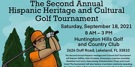 2nd Annual Hispanic Heritage & Cultural Golf Tournament tickets