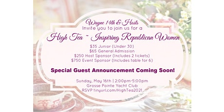 High Tea ~ Inspiring Republican Women tickets
