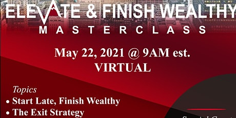 Elevate & Finish Wealthy tickets