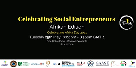 Afrikan Edition - Celebrating Social Entrepreneurs Tickets