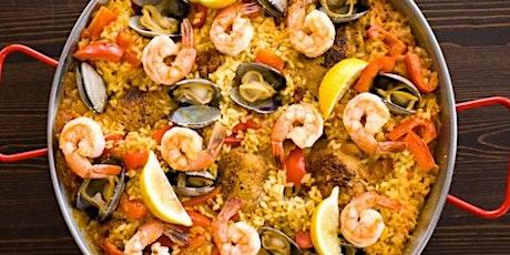 In-Person Class: Spanish Paella Party (Boston) tickets
